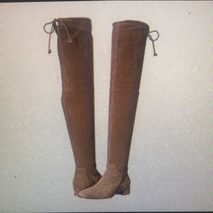 Aquatelia light brown shade boots.